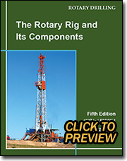 The Rotary Rig And Its Components 5th Ed